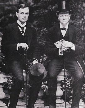 Eddie Marsh & Winston Churchill